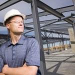 Architect On Construction Site — Stock Photo #31792809