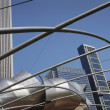 Jay Pritzker Pavilion, Millennium Park, Chicago, Illinois, Usa — Stock Photo