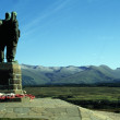 Fort William, Scotland, United Kingdom. War Memorial, Sculpture Of Soldiers Looking Out Over The Landscape — Stock Photo #31795831