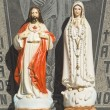 Jesus And Mary Icons — Stock Photo