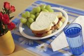 Almoço na mesa — Fotografia Stock