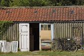 Bempton, Yorkshire, England, Old Run-Down Shed — Stock Photo