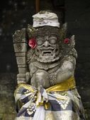 Temple Statue. Ubud, Bali, Indonesia — Stock Photo
