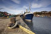 Boat Dock, Whitby, West Yorkshire, England — Stock Photo