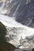 Franz Josef Glacier, Westland National Park, South Island, New Zealand — Stock Photo
