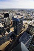 Aerial Of Downtown Edmonton, Alberta, Canada — Stock Photo