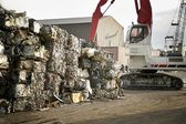 Trash Compacting Site — Stock Photo