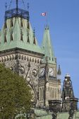 Peace Tower, Parliament Buildings, Ottawa, Ontario, Canada — Stock Photo