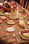 Formal Table Setting — 图库照片