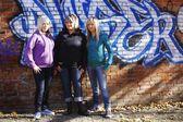 Portrait Of Three Women — Stock Photo