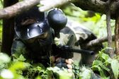 Paintball Sniper — Stockfoto