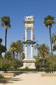 Monumento De Cristobal Colon, Seville, Andalucia, Spain — Stock Photo