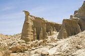 Rock Formations, Red Rock Canyon State Park, California, USA — Stock Photo