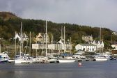 Harbor, Tarbert, Scotland — Foto Stock