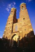 圣母教堂,慕尼黑,巴伐利亚,德国,欧洲 — 图库照片