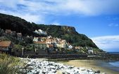 Shoreline Town In Yorkshire, England — Stock Photo