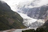 Franz Josef Glacier, New Zealand — Stock Photo