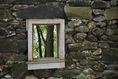 Stone House Wall — Stock Photo