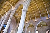 Vaulted Cathedral Ceiling — Stock Photo