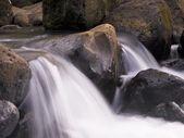 Water Flowing Over Rocks, Napali Coast State Park, Kauai, Hawaii — Stock Photo
