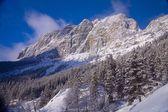 Mountain Scene In Canmore, Alberta, Canada — 图库照片