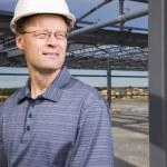 Architect On Construction Site — Stock Photo #31800653