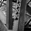 Detail Of Bridge Pylon, Bracebridge, Muskoka, Ontario, Canada — Stock Photo
