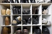Shoe storage — Stock Photo