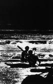 Ireland, River Canoeing — Stock Photo