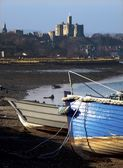 Warkworth Castle, Amble, Northumberland, England — Stock Photo