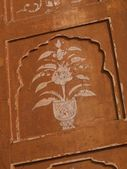 Architectural detail, Jaipur — Stock Photo