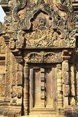 Doorway, Banteay Srei Temple, Angkor, Cambodia — Stock Photo