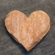 Heart Made Of Stone — Stock Photo