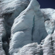 Glacier Face In Sunshine — Stockfoto