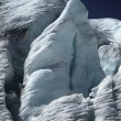 Glacier Face In Sunshine — Stock Photo