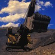 Dragline In Open Pit Mine — Stock Photo #31933385