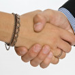 Handshake — Stock Photo