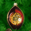 kerstboom ornament — Stockfoto