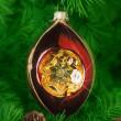 Рождественская елка орнамент — Стоковое фото
