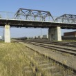 Railway. Winnipeg, Manitoba, Canada — Stock Photo