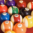 Pool Balls — Stock Photo