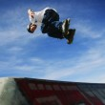 Skater's Flip — Stock Photo