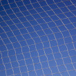 Pattern Created By String Netting Against A Blue Sky — Stock Photo