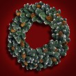 Christmas Wreath — Foto de stock #31935731