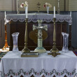 Altar, St. Vladimir's Ukrainian Greek Orthodox Church — Stock Photo