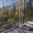 Stock Photo: Footpath, Bankhead, Banff Park, Banff, Alberta, Canada