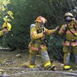 Firemen Putting On Equipment — Stock Photo #31937297