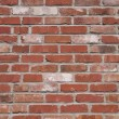 Close-Up Of A Uneven Colored Brick Wall — Stock Photo