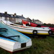 Stock Photo: Boats, Craster, Northumberland, England