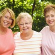 Mother And Two Daughters — Stock Photo